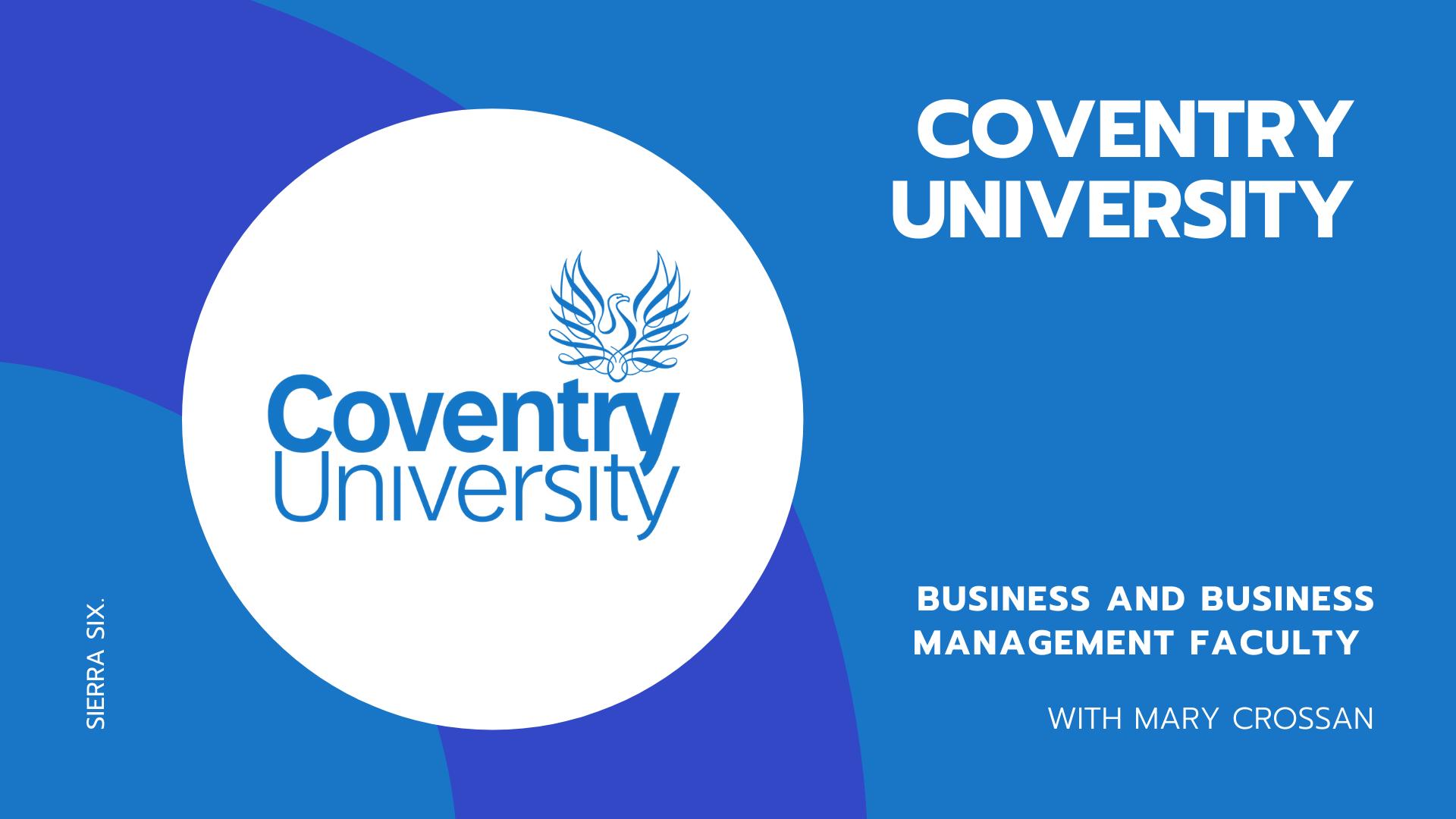 Sierra Six Media, SEO agency educational workshops: Coventry University