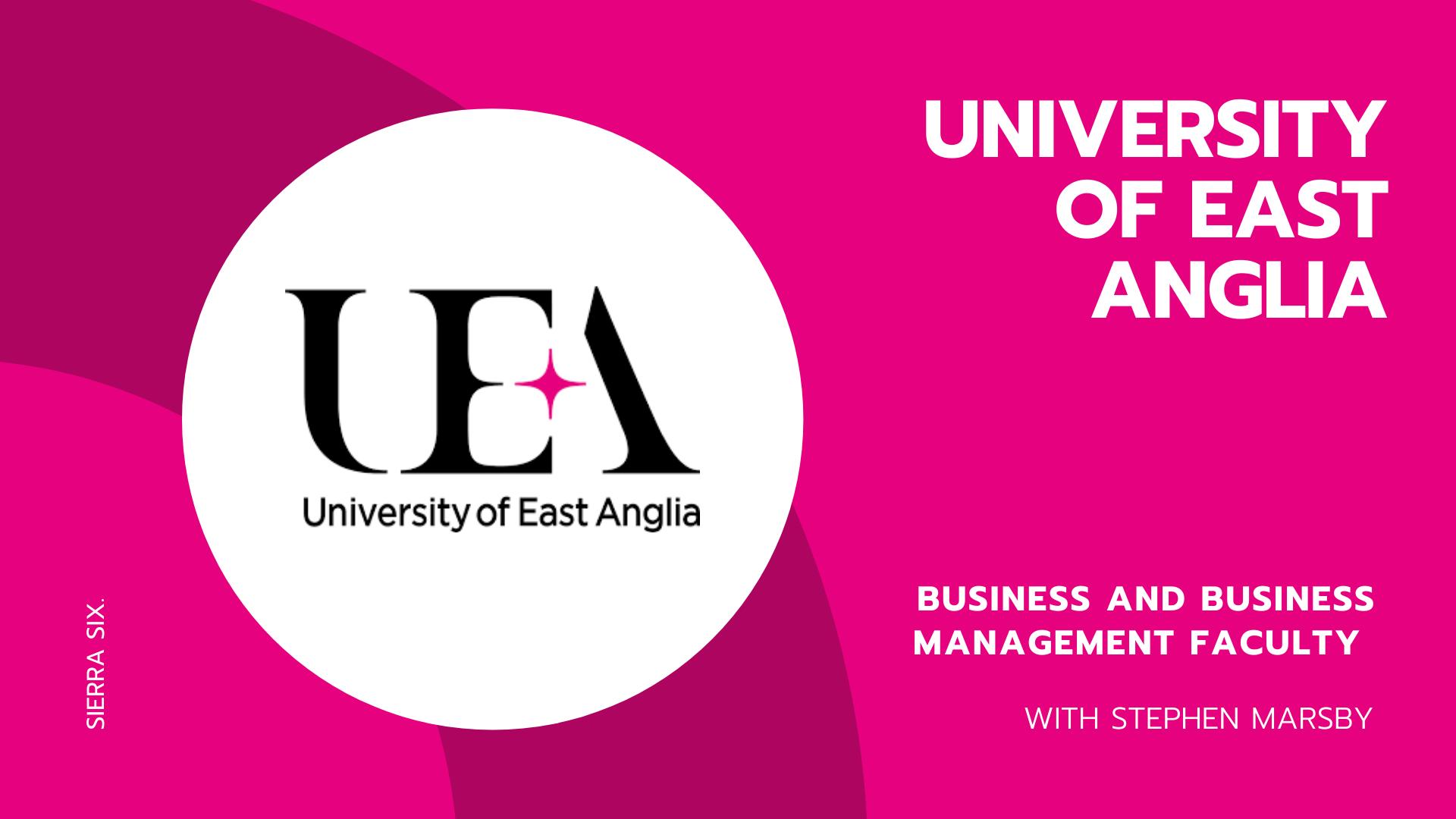 Sierra Six Media, SEO agency educational workshops: University of East Anglia