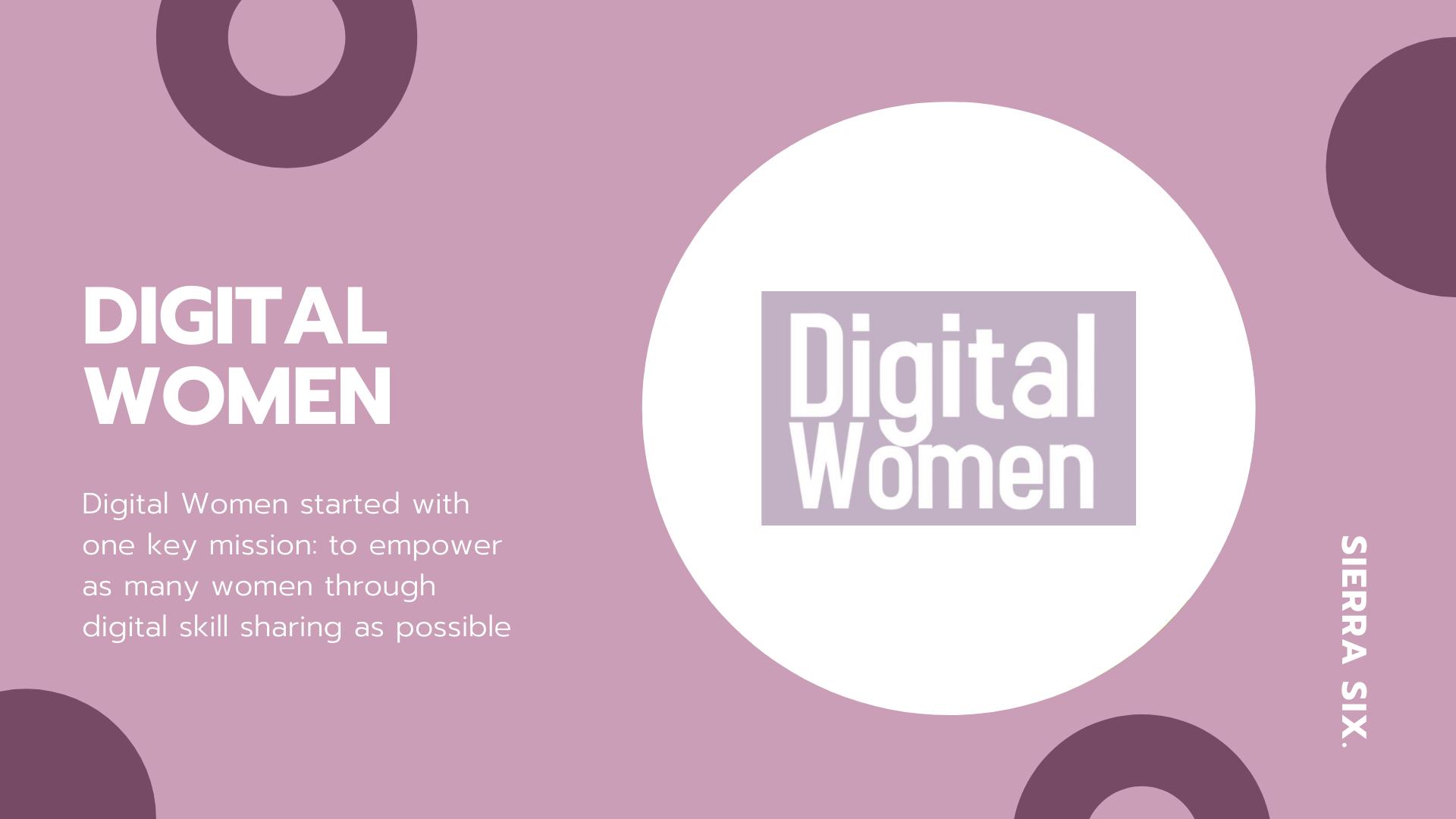Sierra Six Media, SEO agency in the press: Digital Women blog.