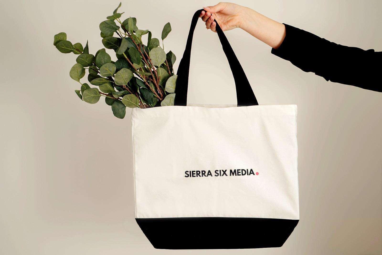 Sierra Six Media, branding project.