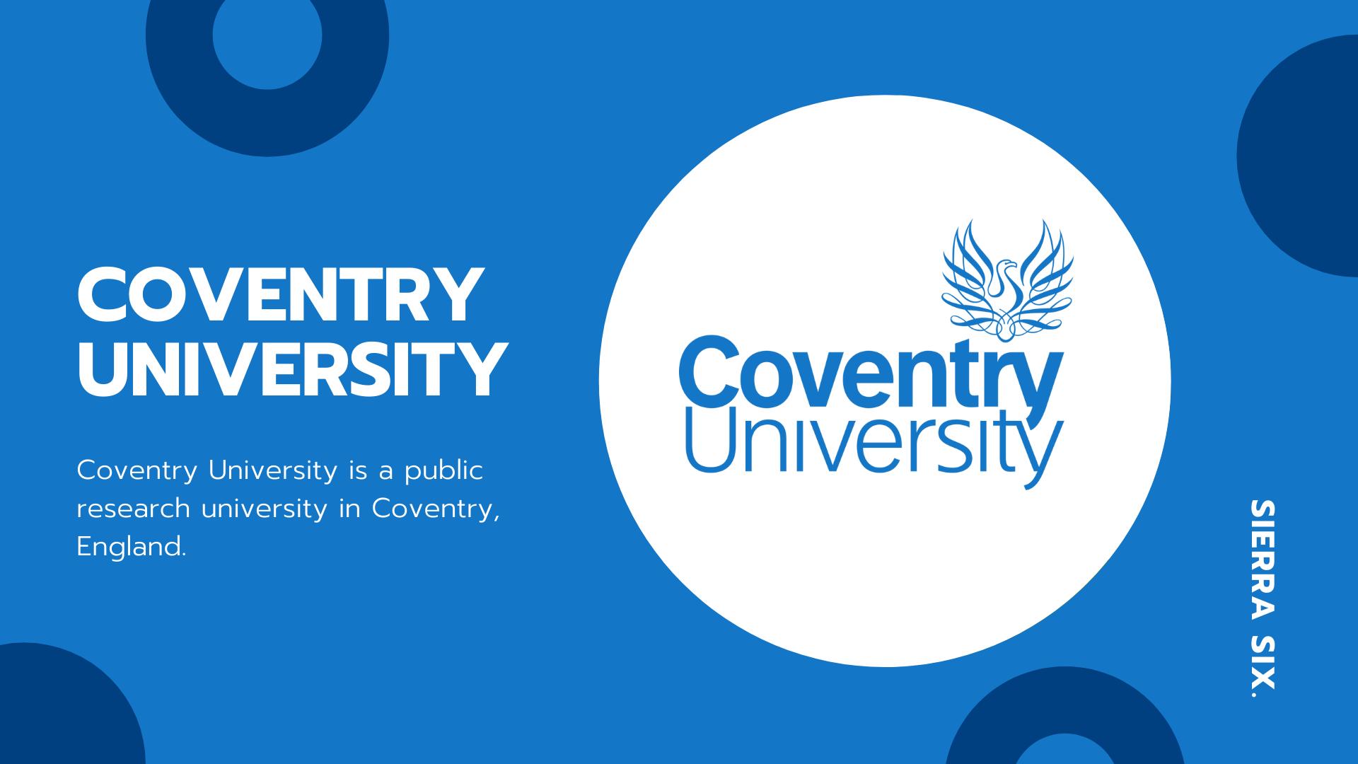 Sierra Six Media, SEO agency in the press: Coventry Uni talk.