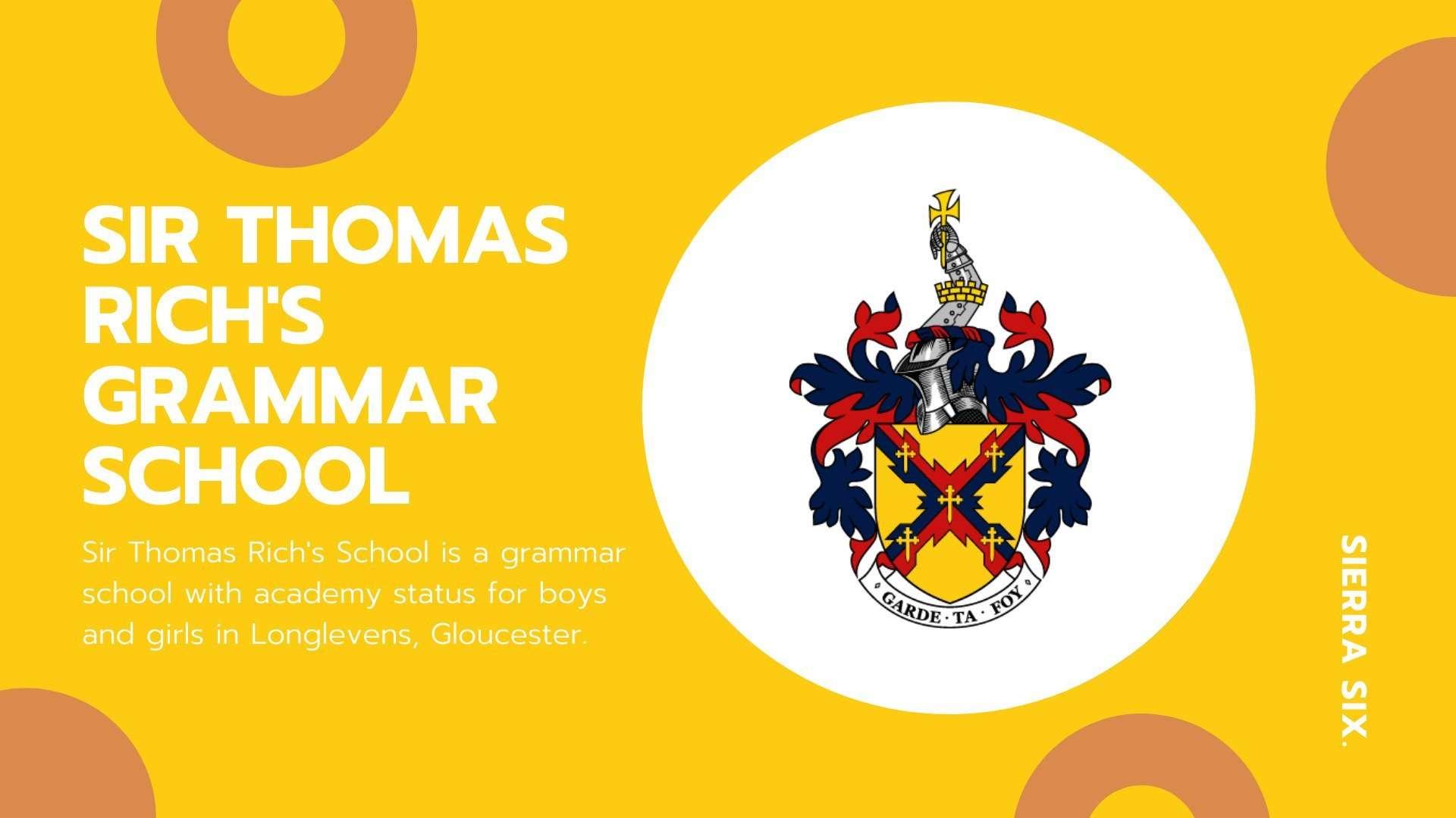 Sierra Six Media, SEO agency in the press: Sir Thomas Rich's School, talk with students.