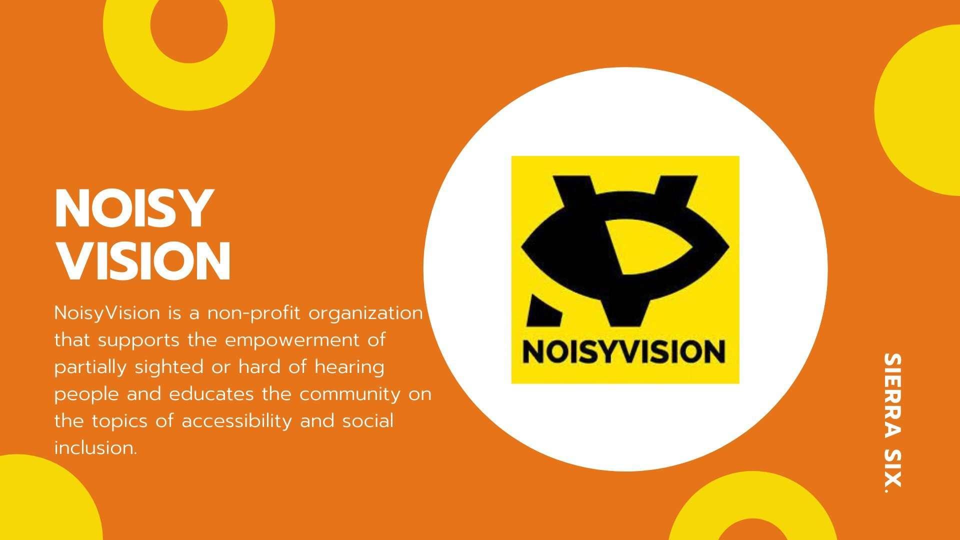 Sierra Six Media, SEO agency in the press: Noisy Vision, visually impaired blog.